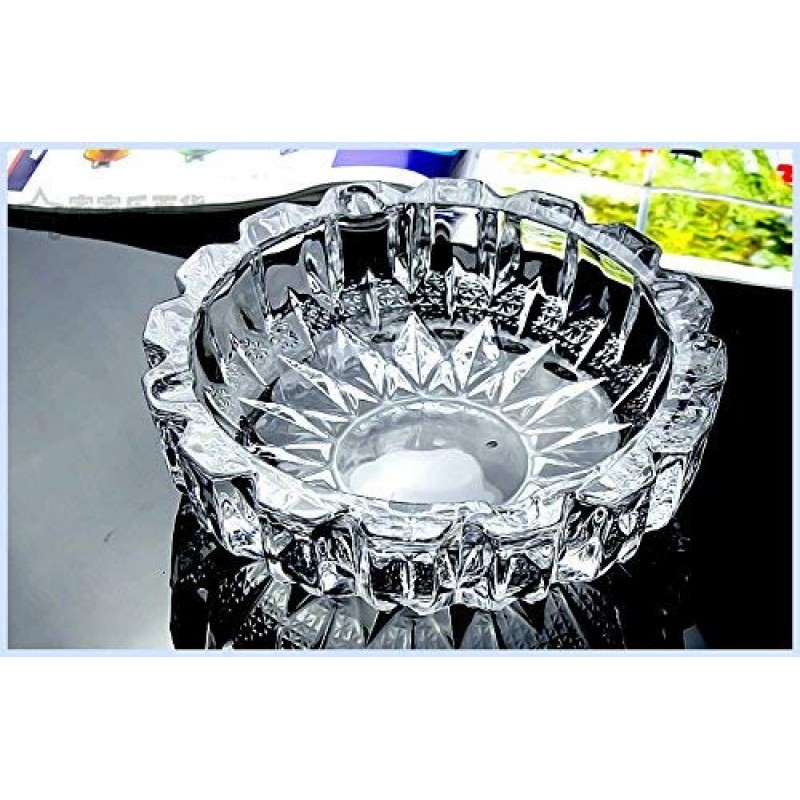 New Look Crystal Finish Wealth Sign Tortoise With Plate Statue Showpiece
